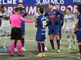 Juan Carlos, new positive at SD Huesca. EFE