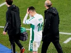 El Elche no pudo superar al Getafe en Liga. EFE