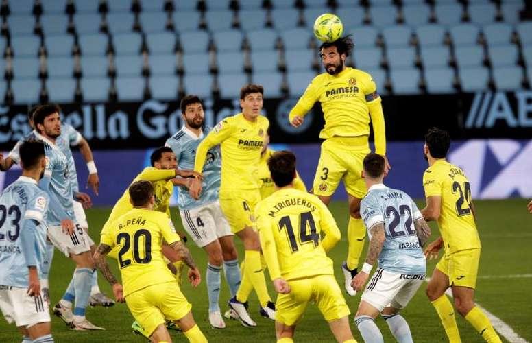Albiol quiere jugar la Champions con el Villarreal. EFE