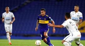 Jogador do Boca se desculpa por derrota para o Santos. EFE/Agustín Marcarian