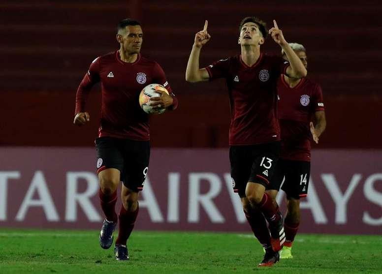 Lanús ganó 0-1 en la ida. EFE