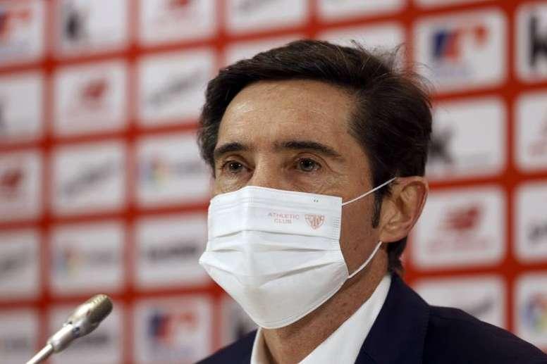 Marcelino valoró sus primeros días al frente del Athletic. EFE/Archivo