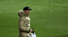 Simeone ensalzó el papel de Suárez. EFE