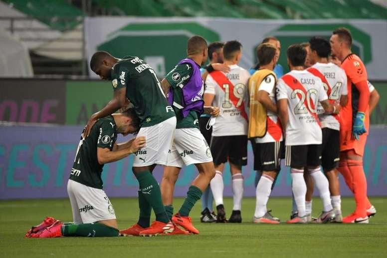 Quantas vezes o Palmeiras chegou às finais de Libertadores? EFE/Nelson Almeida POOL