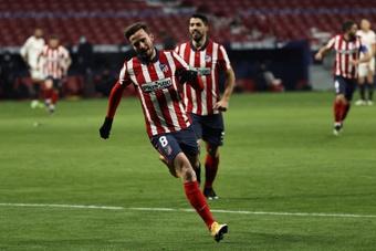 United a fait une offre de 52 millions pour Saúl. EFE