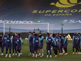 Jogo do Barça corre risco. EFE