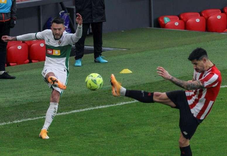 El Elche se enfrenta al Rayo en Copa. EFE
