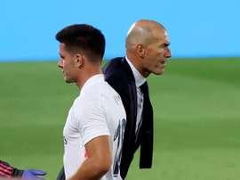 Zidane évoque le cas Jovic. EFE