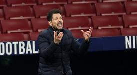 Simeone says he is happy. EFE