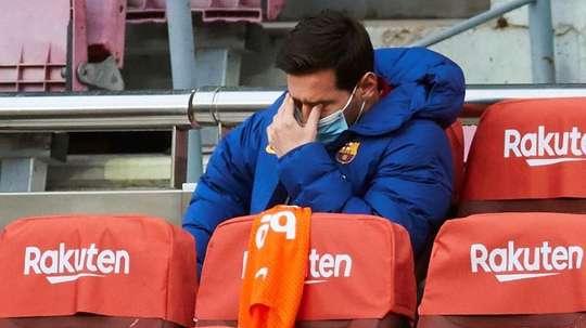 Messi in dubbio per la finale. EFE
