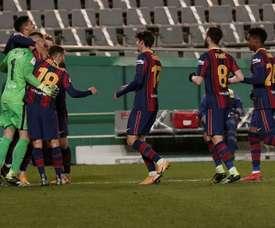 Suivez le direct de la finale Barça-Athletic de la Supercoupe. EFE