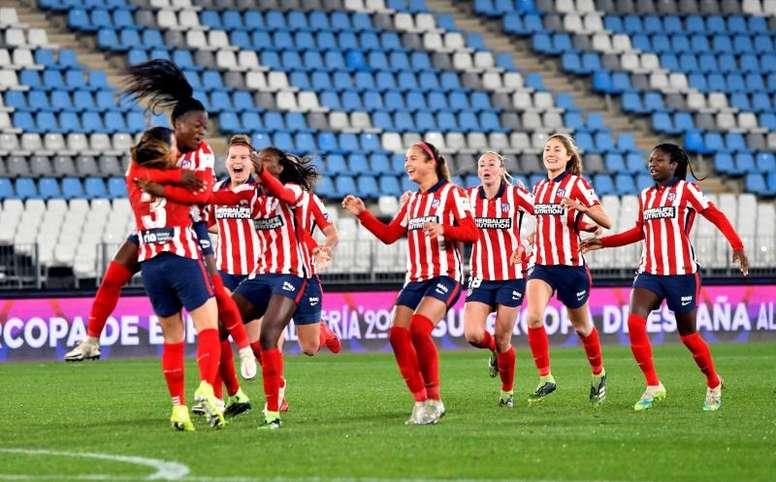 El Atlético, a la final de la Supercopa de España Femenina. EFE