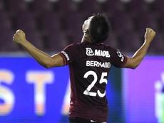 Lanús busca rival por el título en la Sudamericana. EFE