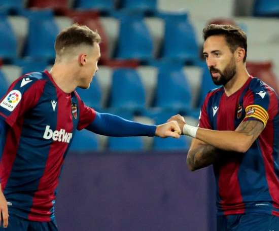 Levante midfielder, Morales. EFE