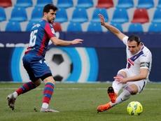 El Eibar renovó a Kike García dos temporadas con opción a una tercera. EFE