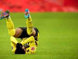 Borussia Dortmund ficou no 1 a 1 contra o Mainz 05. EFE/EPA/FRIEDEMANN VOGEL