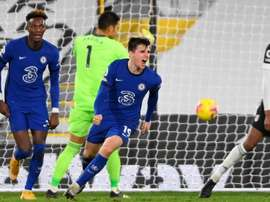 Mason Mount fez o gol da vitória do Chelsea. EFE/EPA/Mike Hewitt