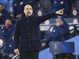A Guardiola le encantaría ganar una Champions este año. EFE