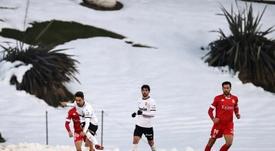 Rubén Sobrino habló tras caer en Copa. EFE