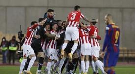 El Athletic tuvo más fe. EFE