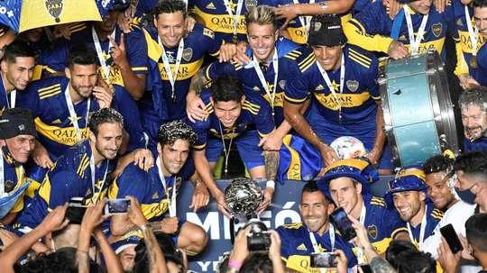 Boca Juniors remporte la Coupe Diego Maradona. EFE