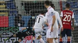 El Milan ganó con solvencia pero sin brillo. EFE/EPA