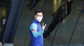 Messi, sancionado con dos partidos. EFE
