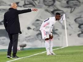 Vinicius Junior s'est confié sur ses plus grandes qualités. EFE