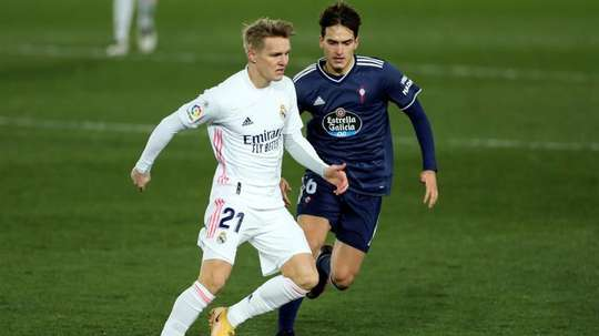 Martin Odegaard has asked to go on loan. EFE