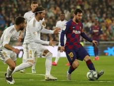Messi y Ramos, presentes. EFE