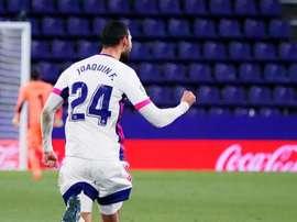 Al Real Valladolid se le han escapado muchos puntos ante rivales directos. EFE