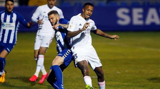 Alcayano pulled off the shock of the year against Real Madrid. EFE