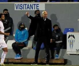Zinedine Zidane will not be sacked before the summer. EFE