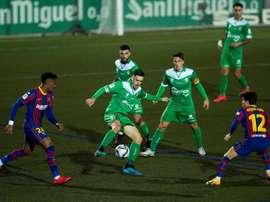 Le Barça évite le piège. EFE