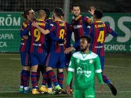 Le Barça hérite du Rayo Vallecano en Coupe du Roi. EFE
