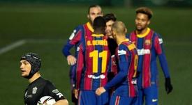 Copa del Rey last 16 draw. EFE