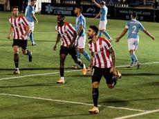El Athletic le ha cogido el gusto a marcar sobre la bocina. EFE