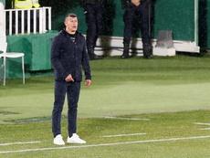 Jorge Almirón analizó al Barça, su próximo rival. EFE/Ramón