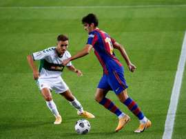 Elche y Barça ya jugaron en la presentación azulgrana. EFE