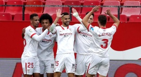 Sevilla's Youssef En-Nesyri has impressed recently. EFE