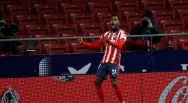 Lemar se ha adaptado al fin al Atlético. EFE