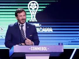 El presidente de la CONMEBOL promete restituir glorias deportivas. EFE