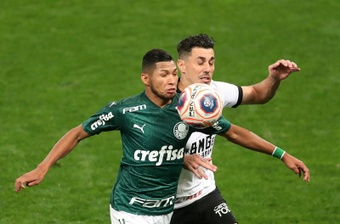 Qual a escalação do Palmeiras contra o Corinthians.EFE