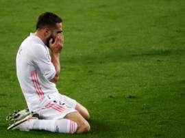 Carvajal rejoint Ramos et Vázquez comme absents presque certains face à Levante. EFE