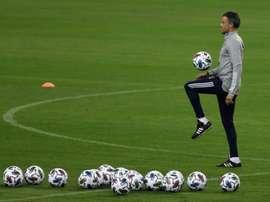España confirmó que se medirá a Portugal como preparación para la Eurocopa. EFE