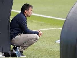 Asier Garitano volvió al Leganés cuando más le necesitaban. EFE/Archivo