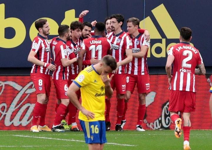 El Atlético de Madrid tratará de conquistar su undécimo Trofeo Carranza. EFE