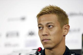 Keisuke Honda va finalement signer à Portimonense. efe