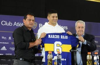 Marcos Rojo, camino de ser referente en Boca. EFE