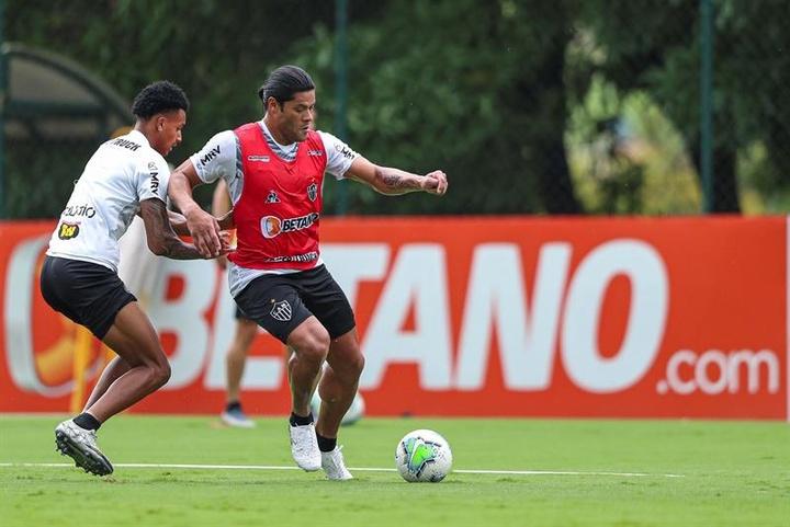 Hulk desencanta no Galo. EFE/Club Atlético Mineiro/Pedro Souza